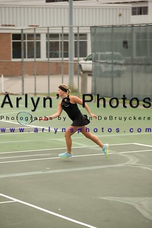 Girls Tennis vs New London - Spicer