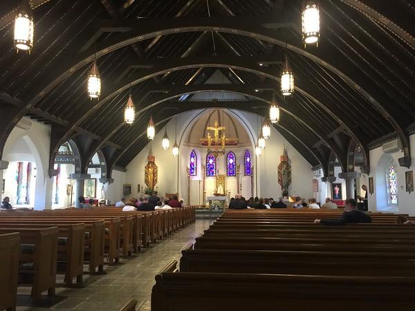Day 5 - Sun, May 3rd - Catholic Chapel