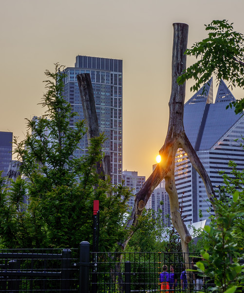 Magey Daley Park Sunset