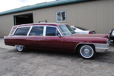 65 Cadillac Hearse