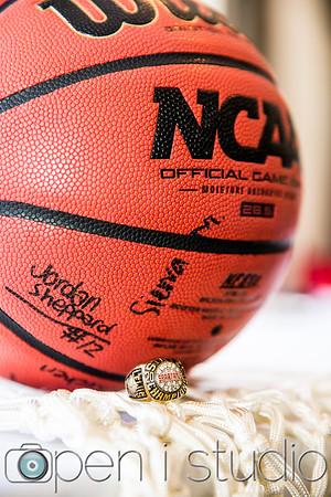 2017 Girls Varsity Basketball Ring Ceremony