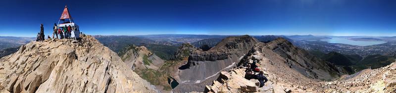 Mount Timpanogos 360 degree view