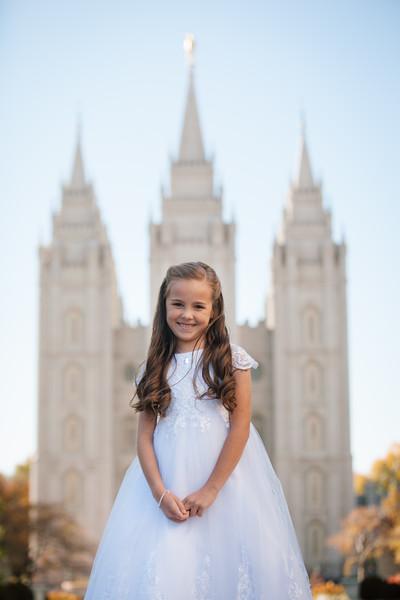 Zoey Baptism Portraits