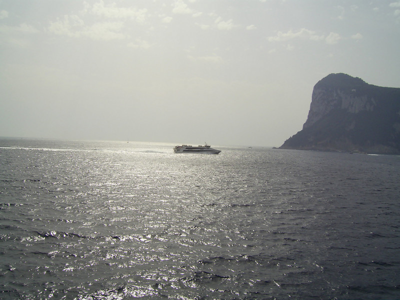 2007 - HSC SNAV ORION arriving in Capri.