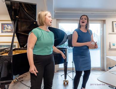 Ann-Iren Hansen concert at Nyksund Brygge 22nd of july 2017