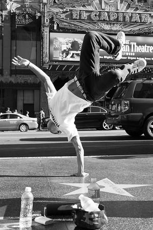 Hilty & Bosch and b-boy crew. Hollywood Break dance.