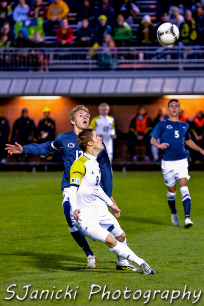 Michigan Men's Soccer Vs Penn State 10-6-12