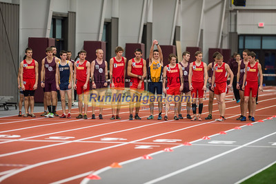 2015 Aquinas College Indoor Quad Meet #2 - January 24, 2015