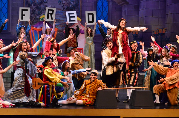 Once Upon A Mattress On Stage