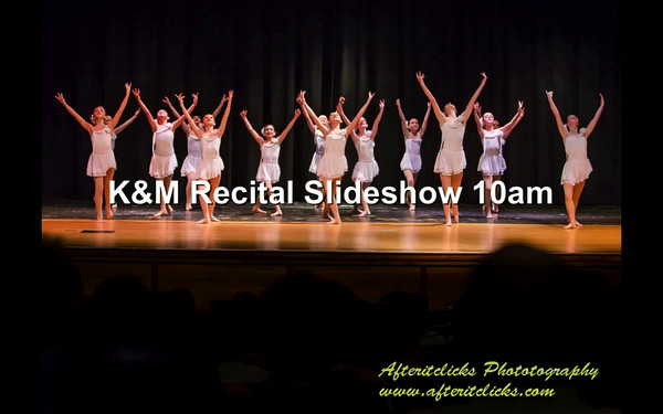 K&M Recital Slideshows 2014