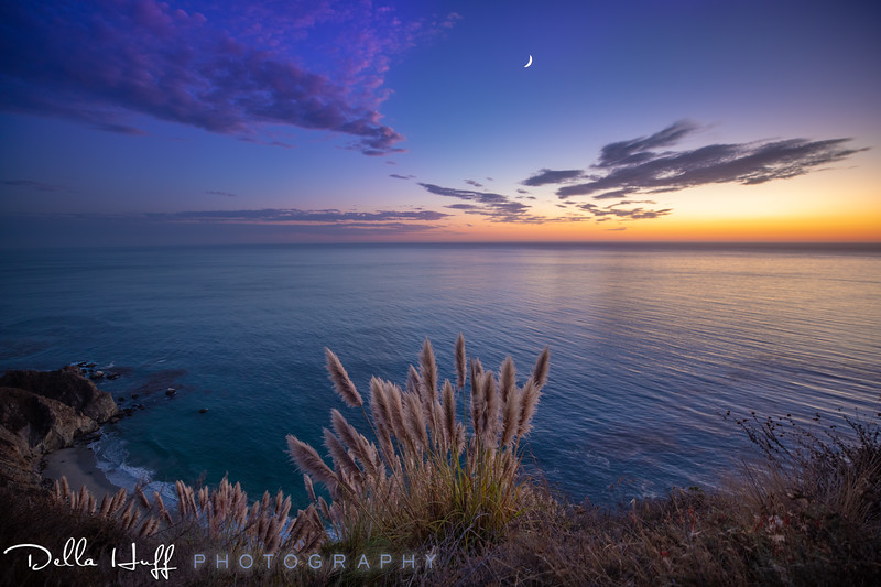 Twilight Blues, Big Sur, California