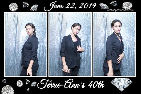 6 22 19 Terrie 40 th