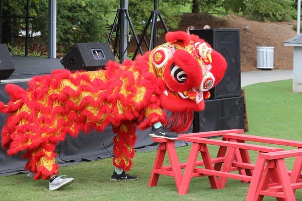 2019 Knoxville Asian Festival - Lion Dance