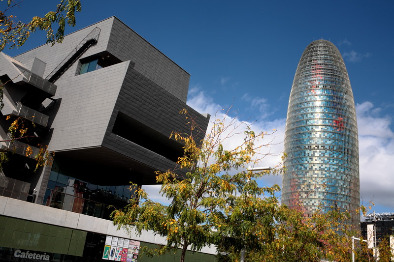 Design Museum of Barcelona and Glories Tower | Museu del Disseny y Torre Gloriés