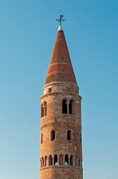 Belfry (Campanile) of Duomo (Cathedral), Caorle, Italy