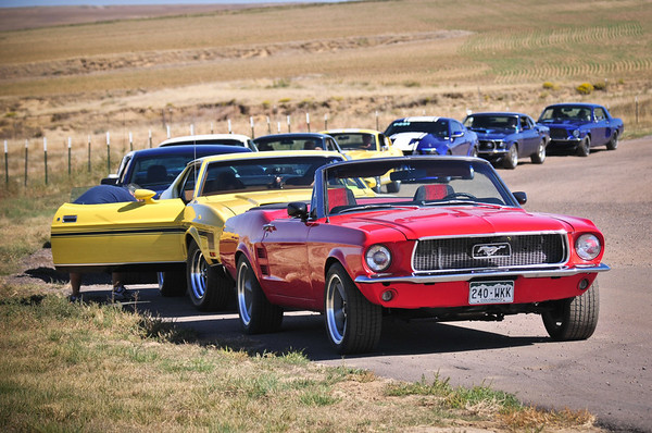 Early Mustang Club - HPR Parade Laps 10.2.11