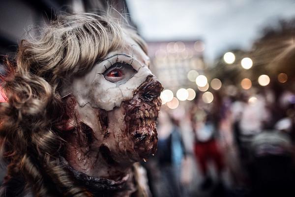 Binghamton Zombie Walk 2013 - Necro Doll Prosthetic