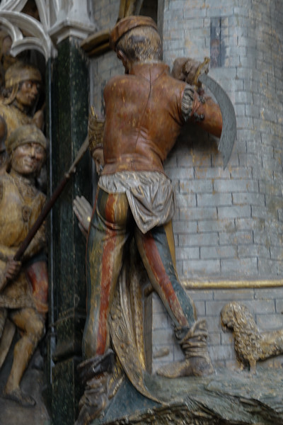 Amines, Notre-Dame Cathedral, The Beheading of Saint-Fermin