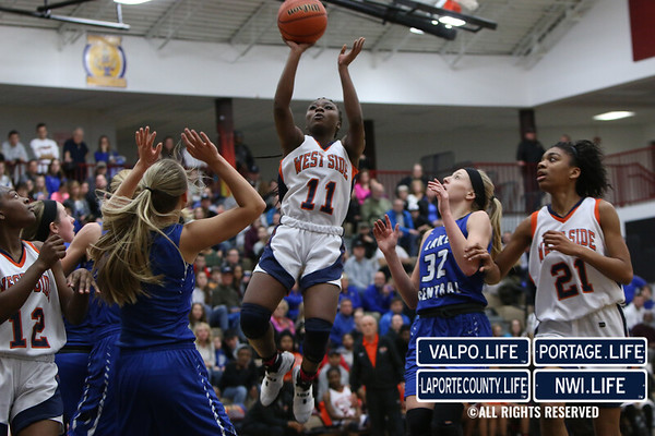 Sectionals Girls Basketball: Lake Central vs. Gary - West Side