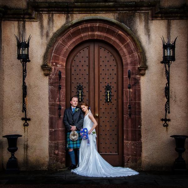 Fyvie Castle Wedding