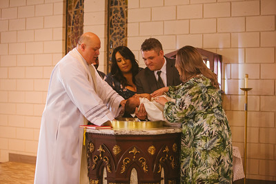Ian Baptism