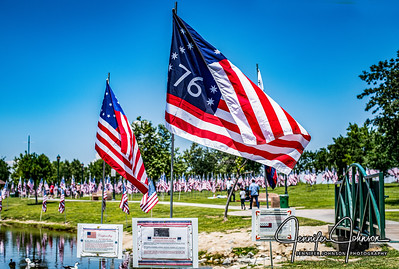 Thousand Flags-The Park at Riverwalk honors Memorial Day 5/25/19