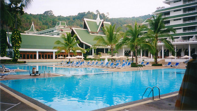 Phuket, Le Meridien Phuket Beach Resort, Patong Beach 1998