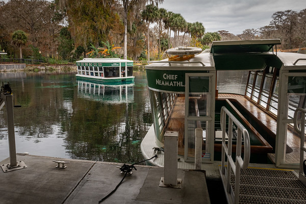 Silver Springs State Park Glass-bottom Boats