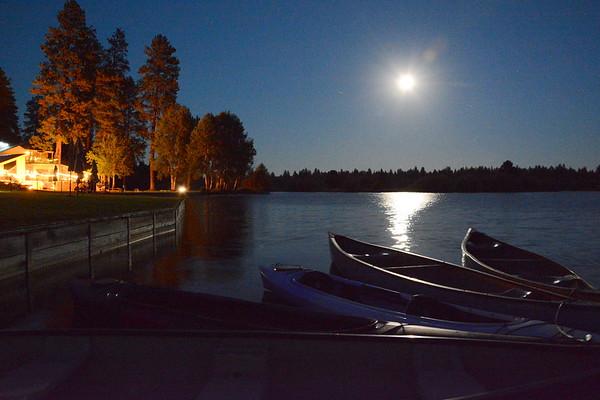 Black Butte - Full Moon