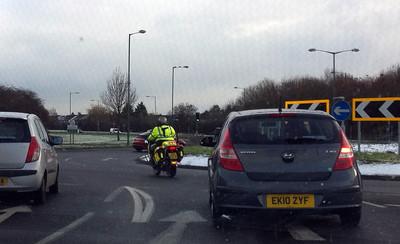 Emergency Bikers TV filming - November 2010