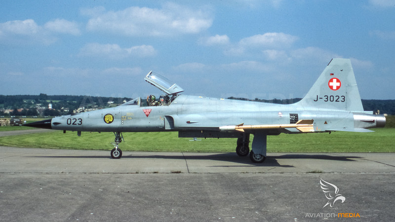 Swiss Air Force Northrop F-5E ll Tiger J-3023