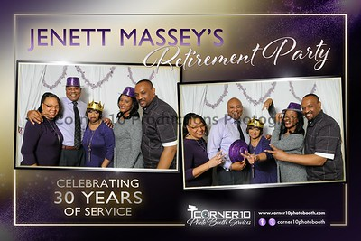 Jenett Massey's Retirement Party