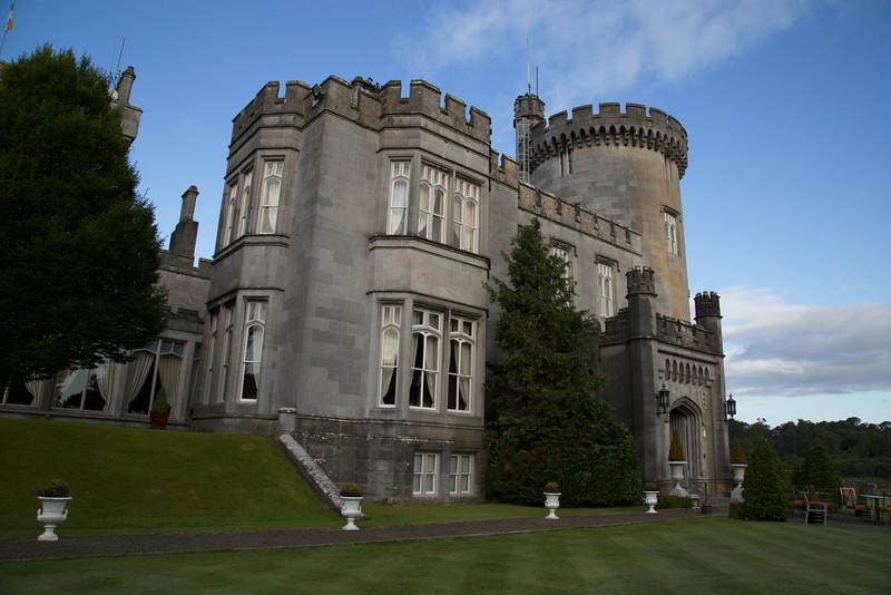 Dromoland Castle....our hotel.