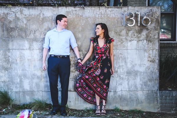 Jason + Elizabeth Engagement 1.22.17