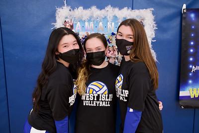 Girls Volleyball Senior Day vs ESM