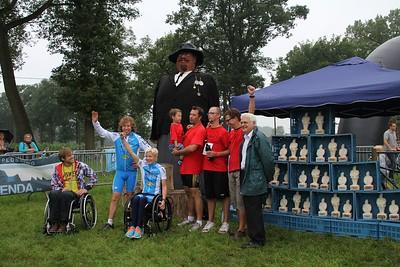 Sterke Peer triatlon 2011 - Prijsuitreiking