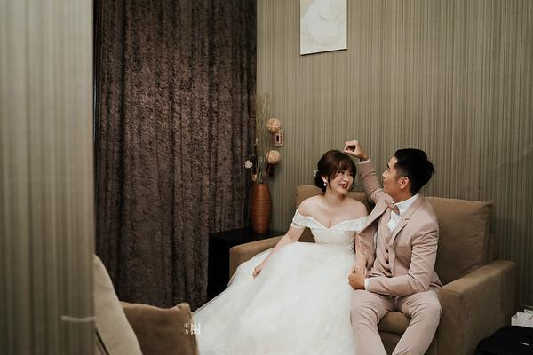 彭園婚宴會館婚攝 (板橋店) | 婚禮紀錄 | 板橋彭園  Uni & HZ