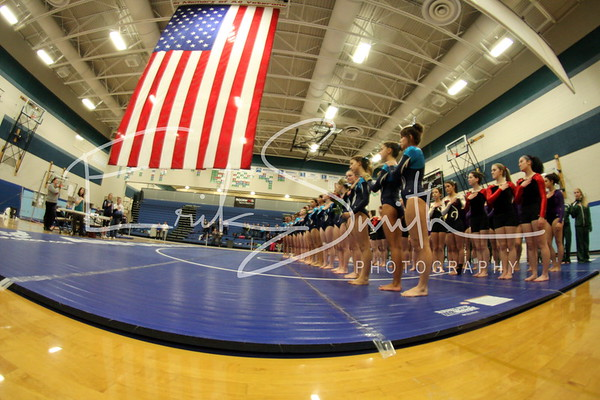CVHS Gymnastics 1-15-2014