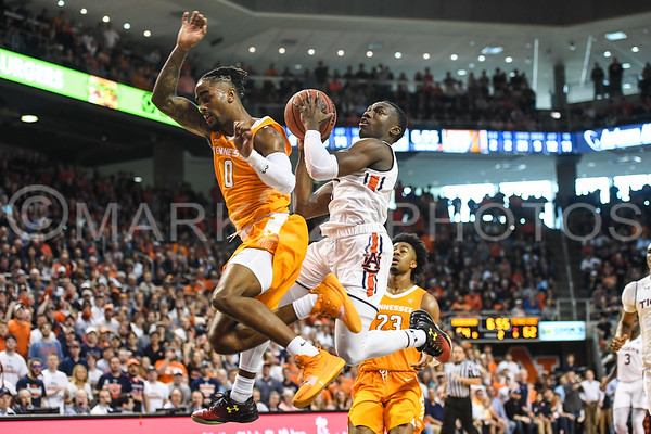 2019 Tennessee at. Auburn Men's Basketball