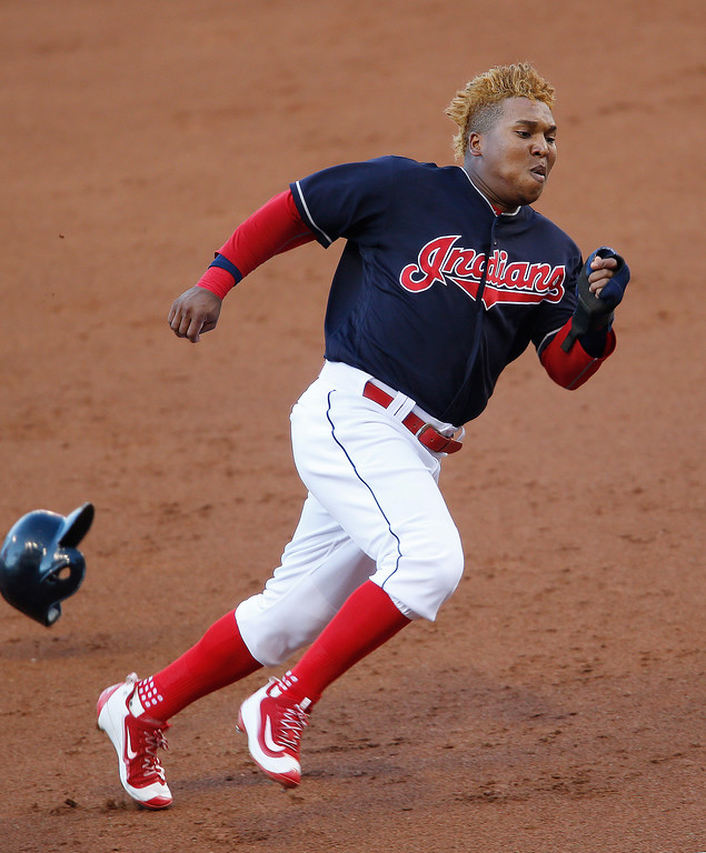 . Jose Ramirez matches last season >> Ramirez was arguably the Indians MVP in 2016. He played in 152 games, moved from left field to third base, batted .312, scored 84 runs and drove in 76. He hit .355, fifth-best in the American League, with runners in scoring position. The Indians will happily take a repeat performance. (AP Photo/Ron Schwane)