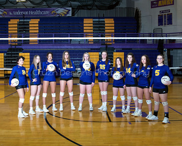 2021 CMHS VOLLEYBALL TEAM AND INDIVIDUALS