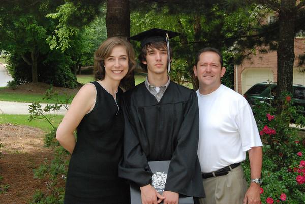 Chris' Graduation from Alpharetta High School, Class of 2009