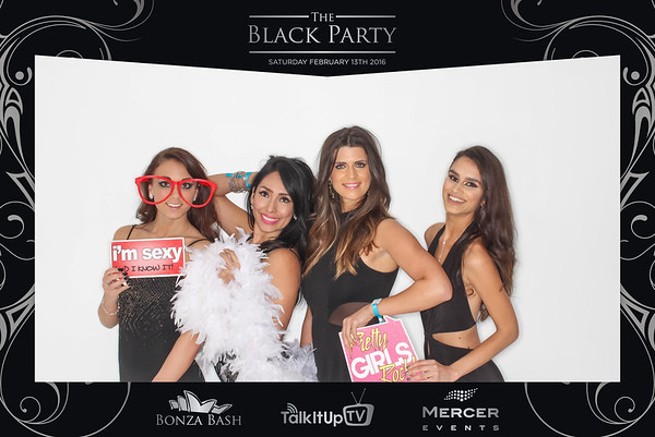 Black Party 2016 Photo Booth