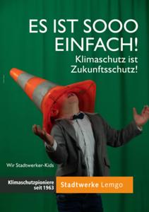 Stadtwerke Kids Kampagne und Zaeune