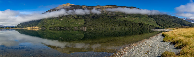 Morgenstimmung am «Diamond Lake»