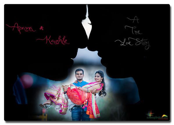 Aparna & kaushik Reception