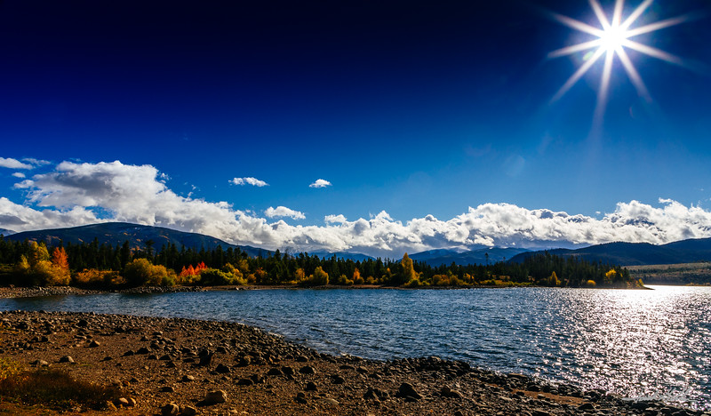 Fall on Lake Dillon