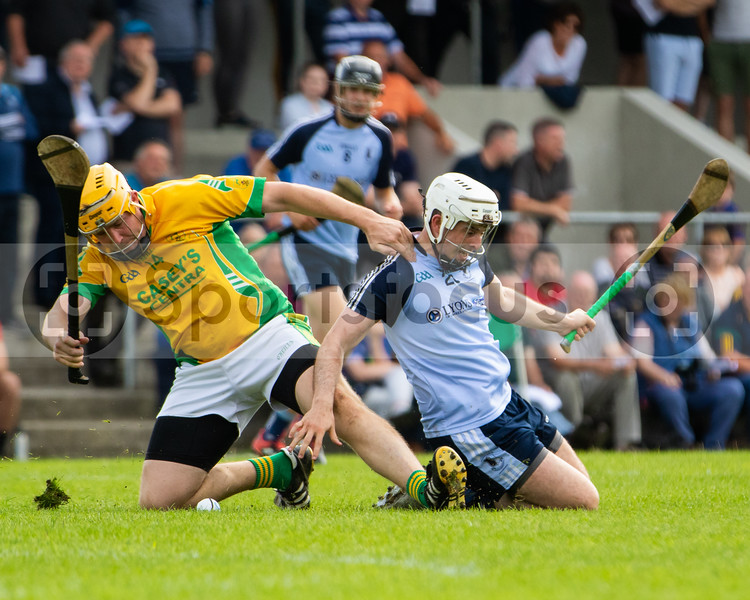 Toomevara's David Young and Eire Og's K Malone