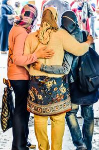 Three Friends in Istanbul, Turkey