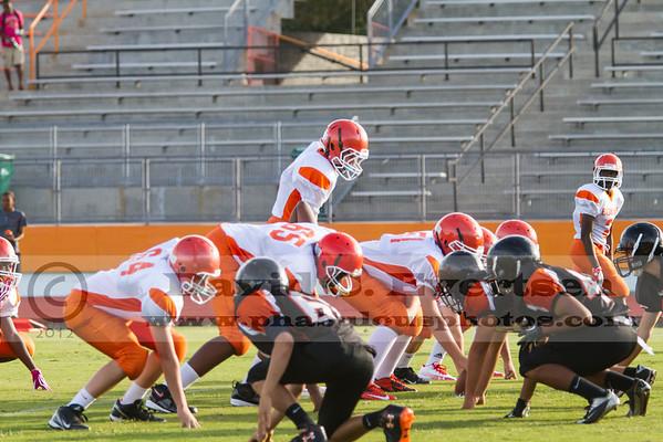 Boone Freshman Football #9 - 2012